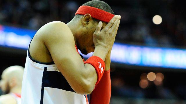 Wizards small forward Paul Pierce