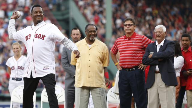 Hall of Fame pitcher Pedro Martinez