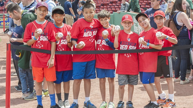 Young Red Sox fans