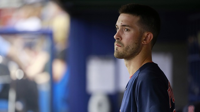 Boston Red Sox starting pitcher Rick Porcello