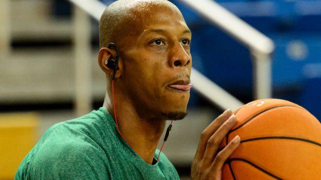 Boston Celtics guard Keith Bogans