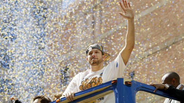 Golden State Warriors forward David Lee