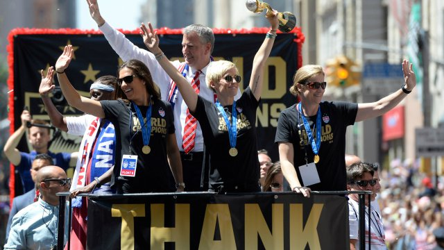 USWNT tops July 2015 FIFA rankings