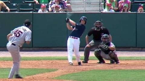 Boston Red Sox prospect Andrew Benintendi