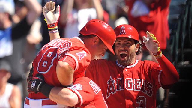 Angels Celebrate Win