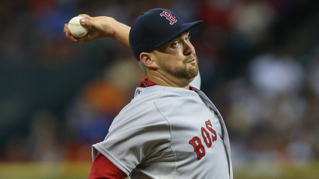 Boston Red Sox pitcher Brian Johnson