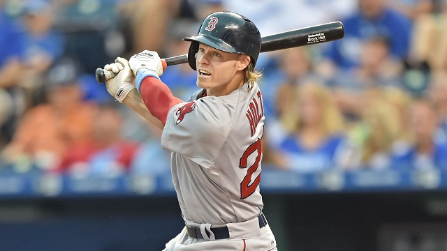 Boston Red Sox second basemen Brock Holt