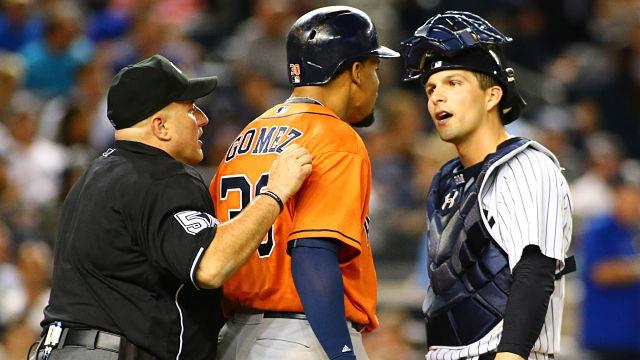 Houston Astros outfielder Carlos Gomez