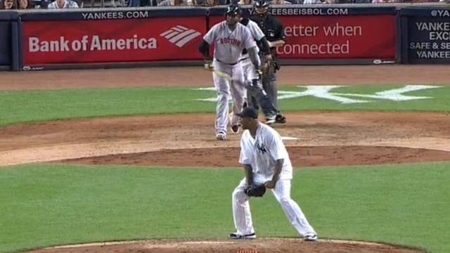 New York Yankees pitcher CC Sabathia and Boston Red Sox slugger David Ortiz