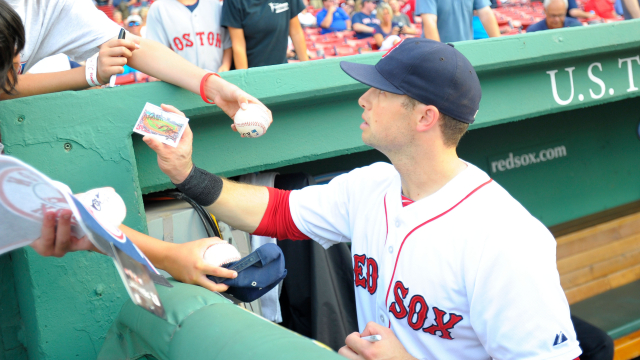 Boston Red Sox outfielder Daniel Nava