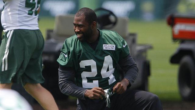 New York Jets cornerback Darrelle Revis