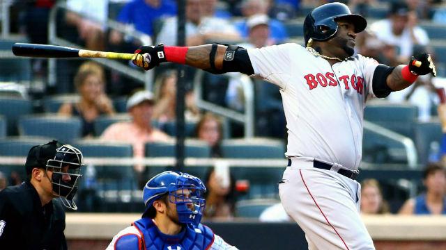 Boston Red Sox pinch hitter David Ortiz