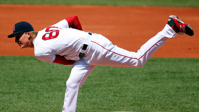 Boston Red Sox pitcher Henry Owens