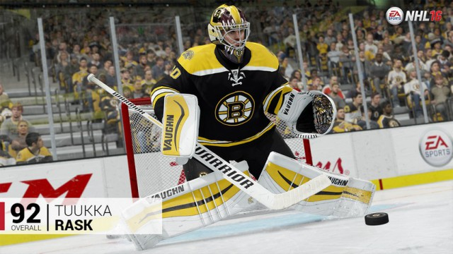 NHL 16 ratings