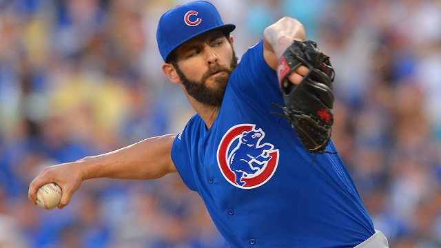 Cubs' Jake Arrieta no-hits Dodgers