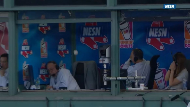 NESN broadcasters Jerry Remy and Don Orsillo