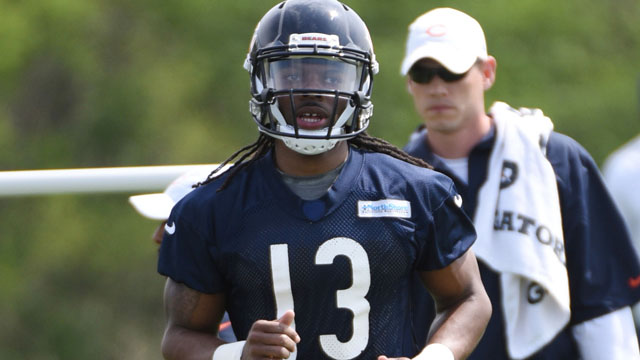 Chicago Bears wide receiver Kevin White