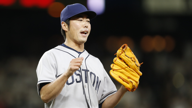Boston Red Sox closer Koji Uehara