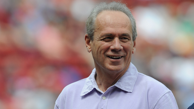 Boston Red Sox president and chief executive officer Larry Lucchino
