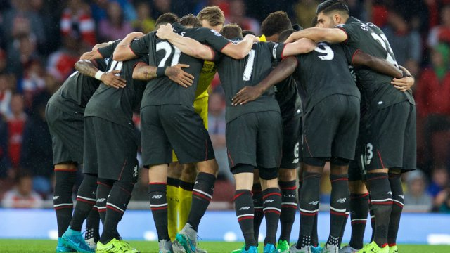 Liverpool players happy with Arsenal draw