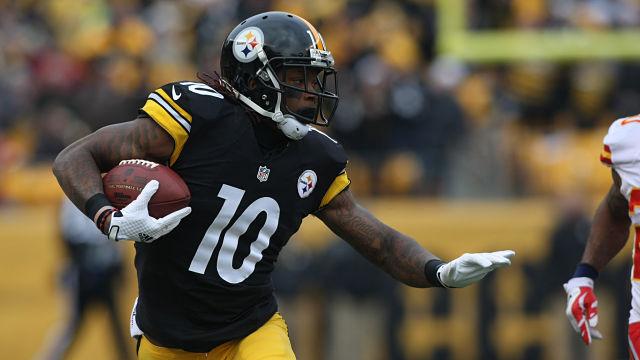 Pittsburgh Steelers wide receiver Martavis Bryant