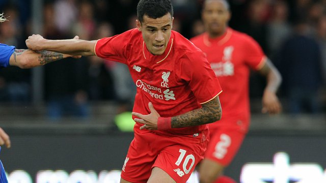 Philippe Coutinho in Liverpool-Helsinki