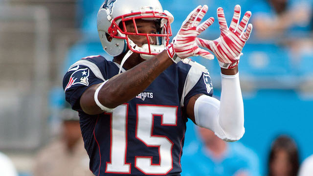 Patriots receiver Reggie Wayne