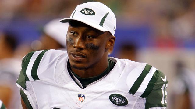 Jets wide receiver Brandon Marshall