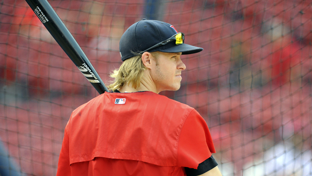 Boston Red Sox utility man Brock Holt