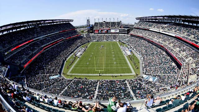 A general view of Lincoln Financial Field