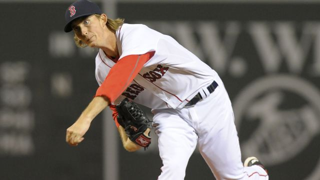 Red Sox pitcher Henry Owens