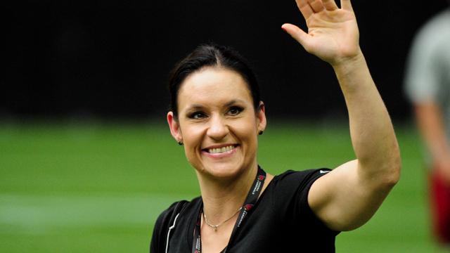 Arizona Cardinals coaching intern Jen Welter