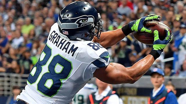 Seahawks TE Jimmy Graham