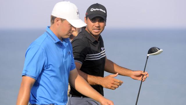 Golfers Jason Day and Jordan Spieth at PGA Championship