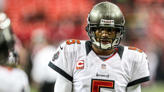 Tampa Bay Buccaneers quarterback Josh Freeman