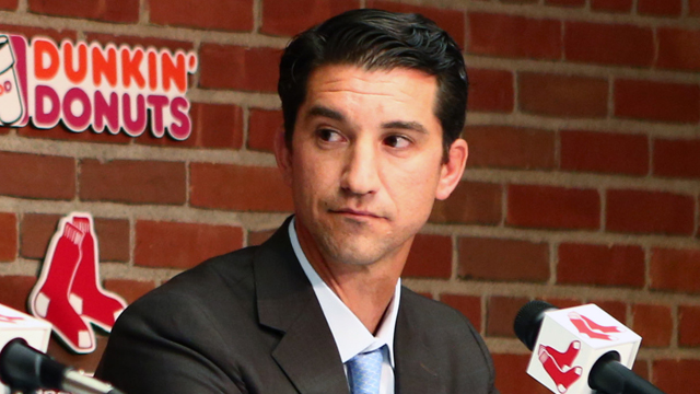 Boston Red Sox general manager Mike Hazen