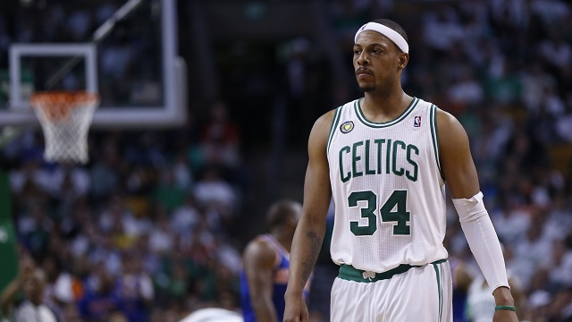 Paul Pierce as a Boston Celtic