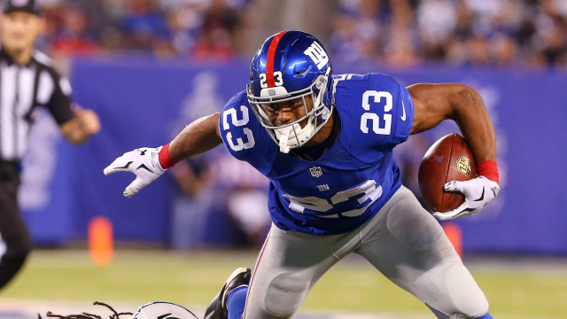 Rashad Jennings: I Was Ordered Not To Score In Giants' Loss To ...