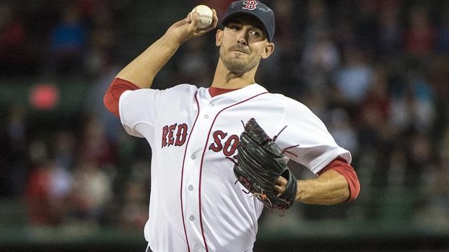 BostonnRed Sox pitcher Rick Porcello
