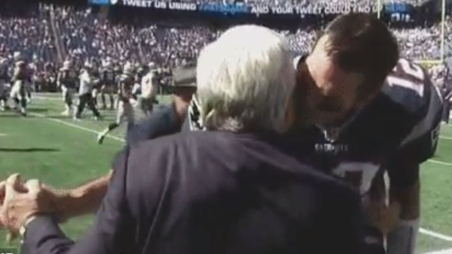 New England Patriots owner Robert Kraft and quarterback Tom Brady