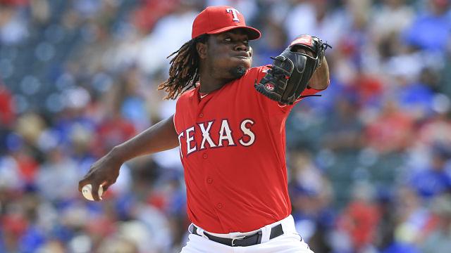 Boston Red Sox pitcher Roman Mendez