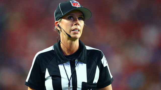 NFL referee Sarah Thomas