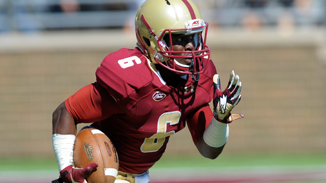Boston College Eagles wide receiver Sherman Alston