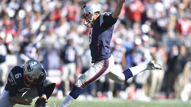 New England Patriots kicker Stephen Gostkowski and punter Ryan Allen