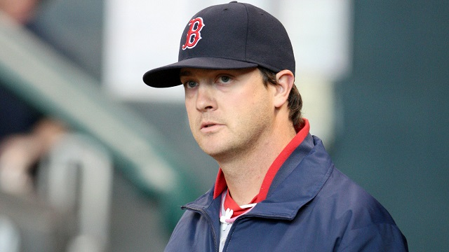 Boston Red Sox starting pitcher Steven Wright