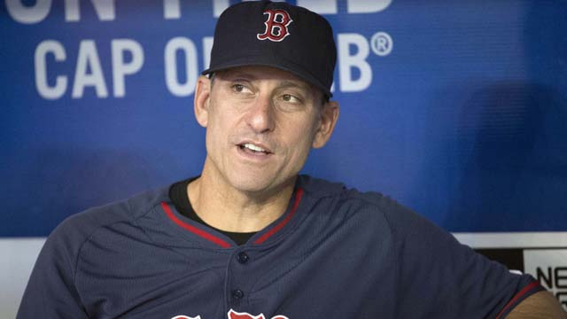 Red Sox interim manager Torey Lovullo