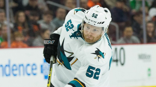 Sharks defenseman Matt Irwin