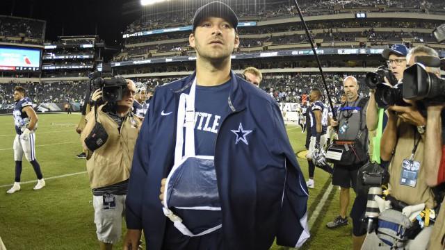 Tony Romo injury