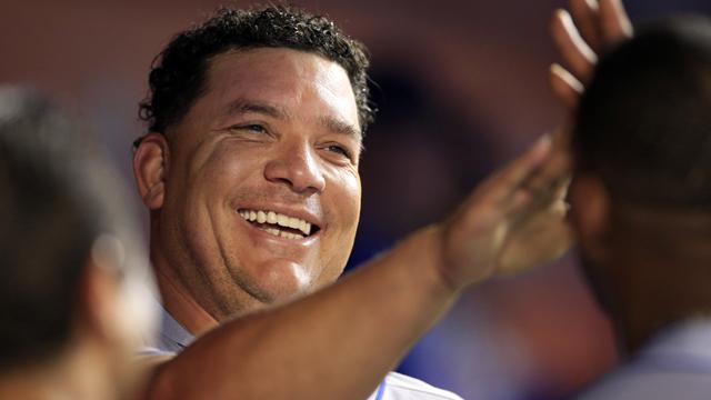 New York Mets starting pitcher Bartolo Colon