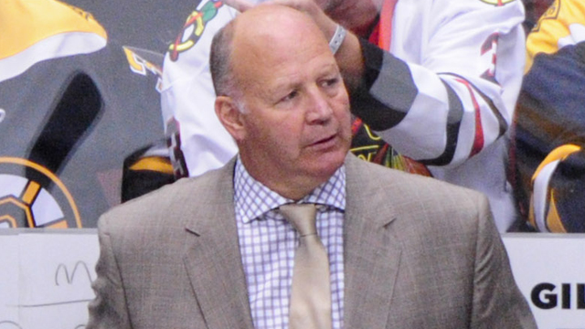 Boston Bruins head coach Claude Julien
